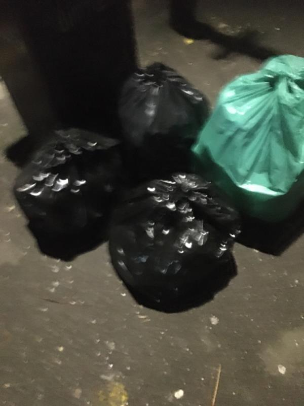 Rubbish -141 Katherine Road, East Ham, E6 1ES
