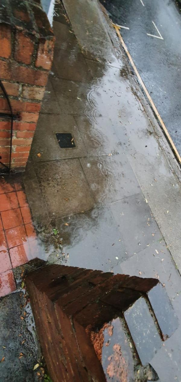 There is a blocked drain causing regular flooding on Holbrook Road, especially outside number 35 & 37-39 Holbrook Rd, London E15 3DZ, UK