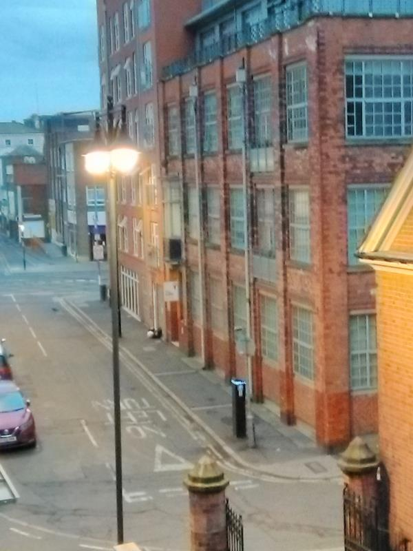 Fly-tipping (again) outside Blenheim Court, Church Street-The Squirrel Building, 57 Colton Street, Leicester, LE1 1QA