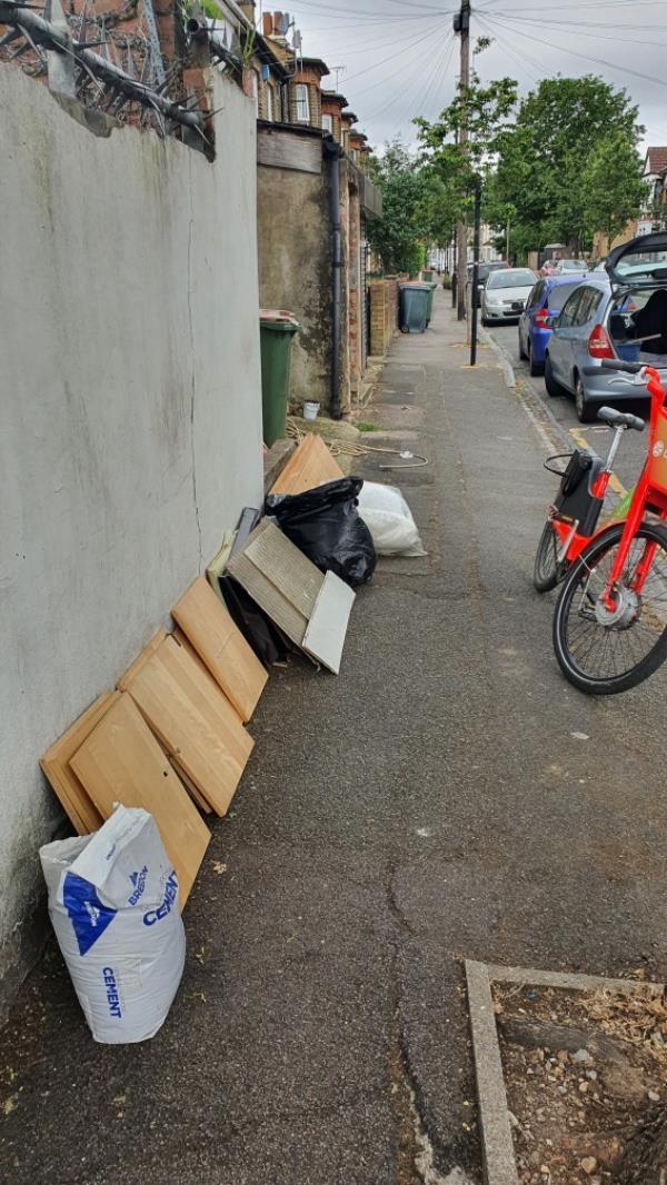 Bags, wood-64a Knox Road, London, E7 9JY