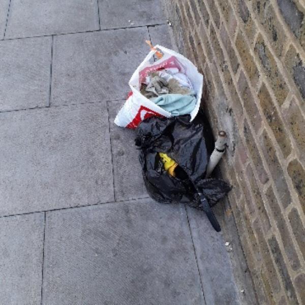 2 bags-26a Station Road, London, E12 5BT