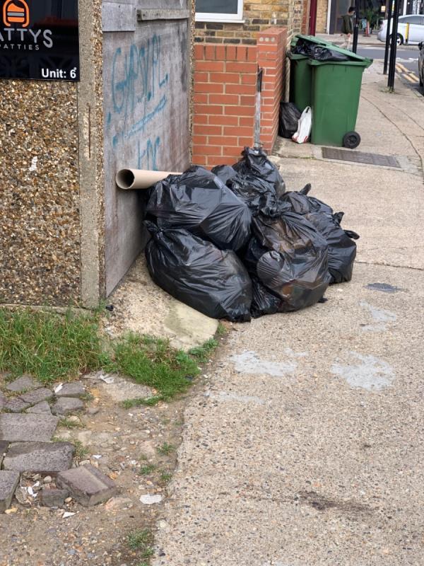 Black sacks-290b Barking Road, East Ham, E6 3AQ