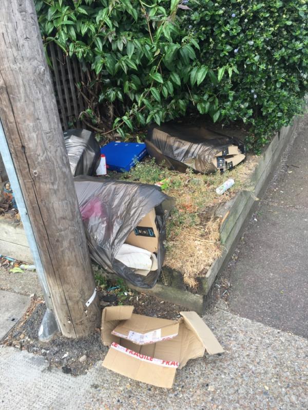 Rubbish -22 Buckingham Road, London, E15 1SP