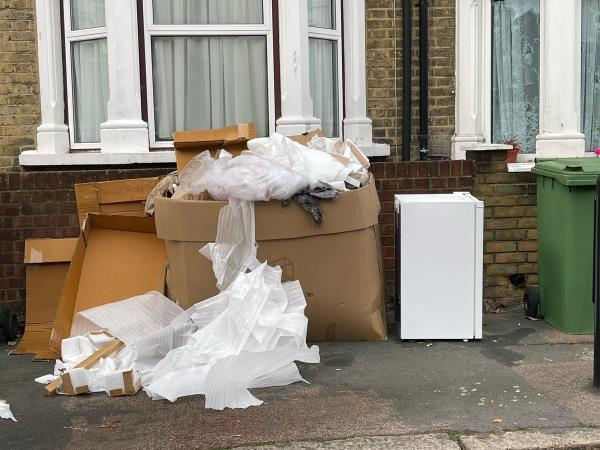As seen in pictures -51 Calverton Rd, London E6 2NS, UK