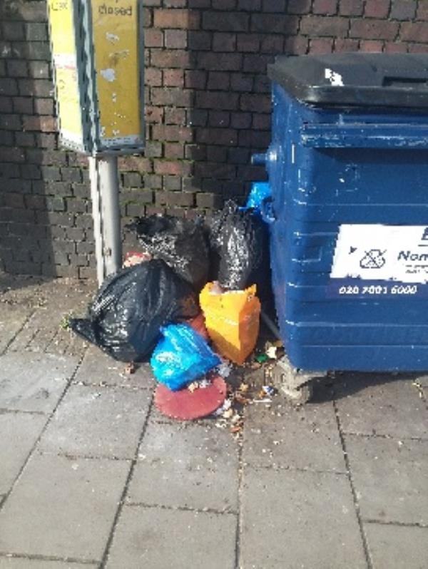 damping bin bags on thr grove 198 needs to clear stratford original ambassador AR-131 The Grove, London, E15 1