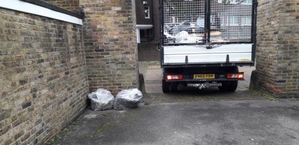 colonnade  sweeping bags -5 Grove Street, London, SE8 3AS
