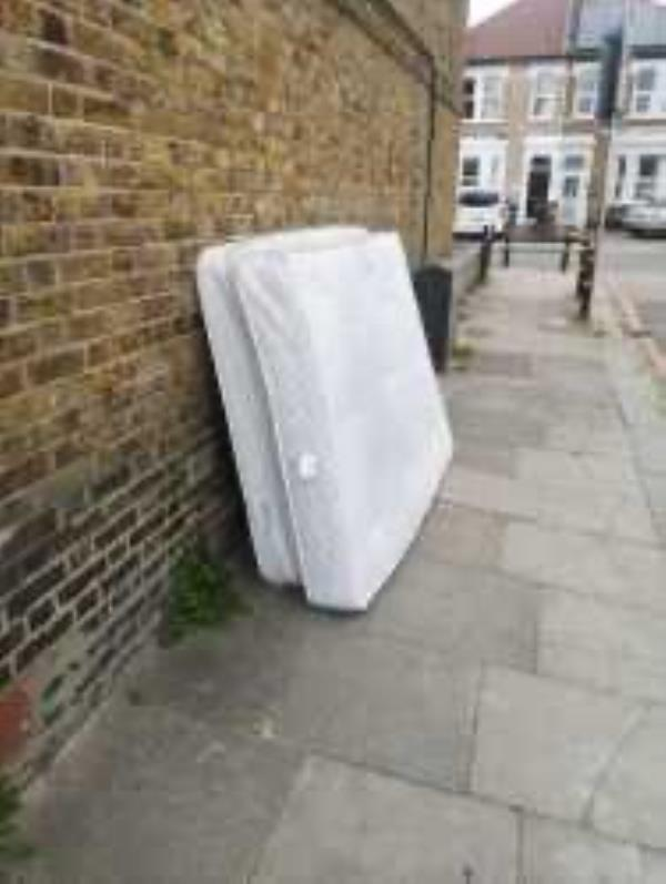 Please clear a mattress-Bowness Cottage Bowness Road, London, SE6 2DG