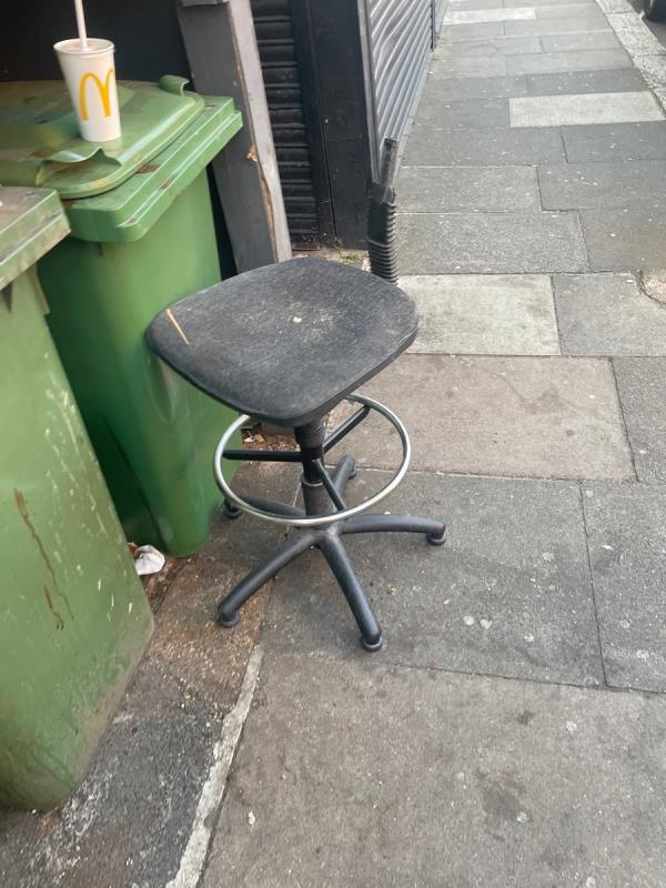 Rubbish -54 Plashet Grove, East Ham, E6 1AE