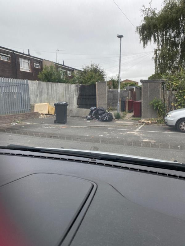 This area needs a bit of love! There is a lot of rubbish everywhere including broken glass. The area looks very run down and not pleasant to look at or live in.  There's also a wall around the main electric unit that has broken which leaves bricks all over the car park. This is very dangerous! -37 Strathy Close, Reading, RG30 2PP