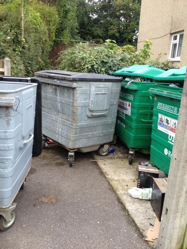 Wash down bin stores-75 Severn Way, Reading, RG30 4HH