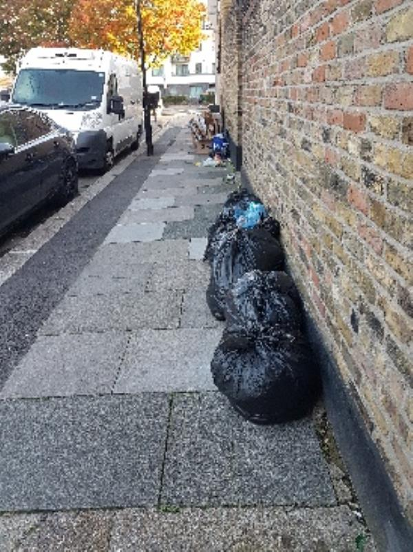 Fly tipping -4 Harcourt Road, London, E15 3DX