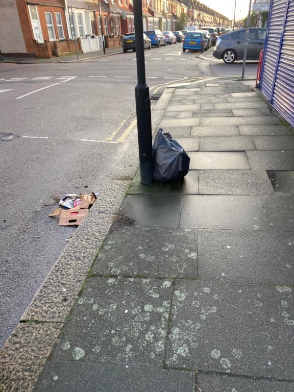 Dumped rubbish-47 Rosebery Avenue, London, N17 9SE