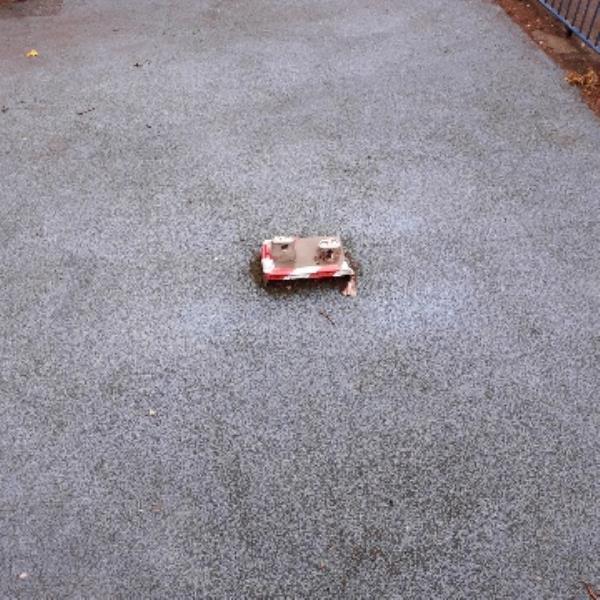 play ground frank bailey walk e12 trip hazzard -12a Gainsborough Avenue, London, E12 6JG
