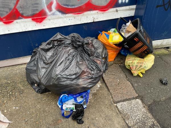Rubbish bags-292 Hermitage Road, Manor House, N4 1NP