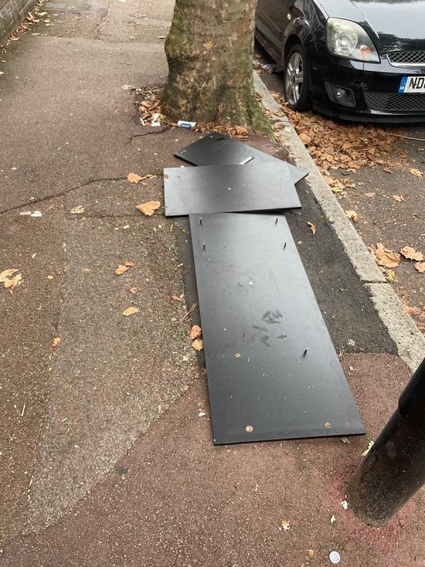Rubbish  image 1-53 Coleridge Ave, London E12 6RQ, UK