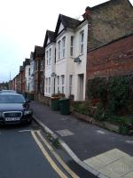 on the corner.of 39 Bingley road by the lamp post , opposite 55 Nottingham avenue, e16 3rt image 1-39a Bingley Road, London, E16 3JR