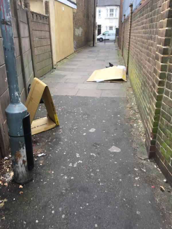 Need deep clean. It is a insult for local residents. Too much filth. So unhygienic. Thank you for attention. We need to install CCTV camera here. image 1-Fry House Saint Stephen's Road, Green Street East, E6 1AL