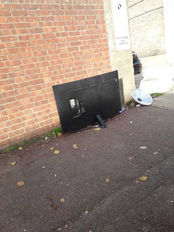 television -49 Byron Ave, London E12 6NQ, UK