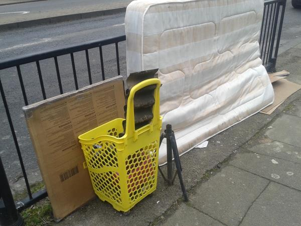 Please clear flytip  of lumber items-148 Southend Ln, London SE6 3DW, UK