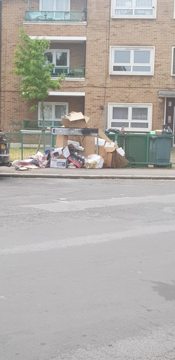 scum on the street again-3 Rectory Road, London, E12 6JB