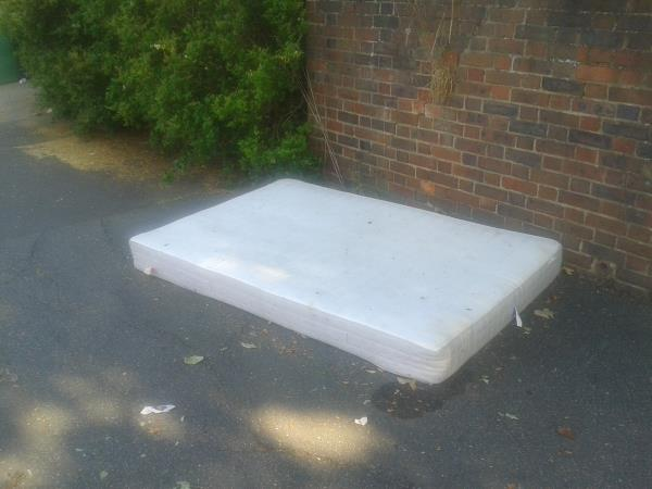 Please clear a mattress-255 Downham Way, Bromley, BR1 5EL