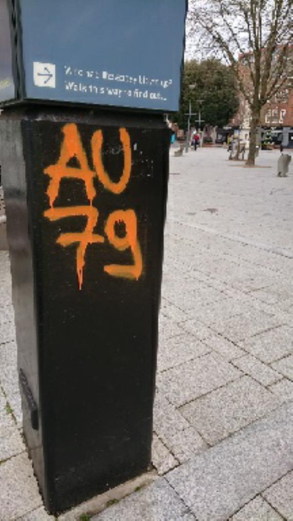 Graffiti -176 Friar Street, Reading, RG1 1HE