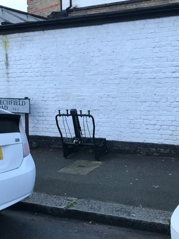Chair frame -106b Catford Hill, London, SE6 4PU