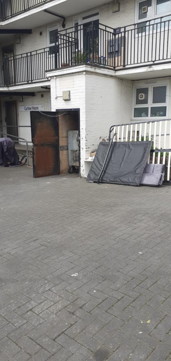 a bad  base and broken furniture -School House Chelwood Walk, Brockley, SE4 2QQ