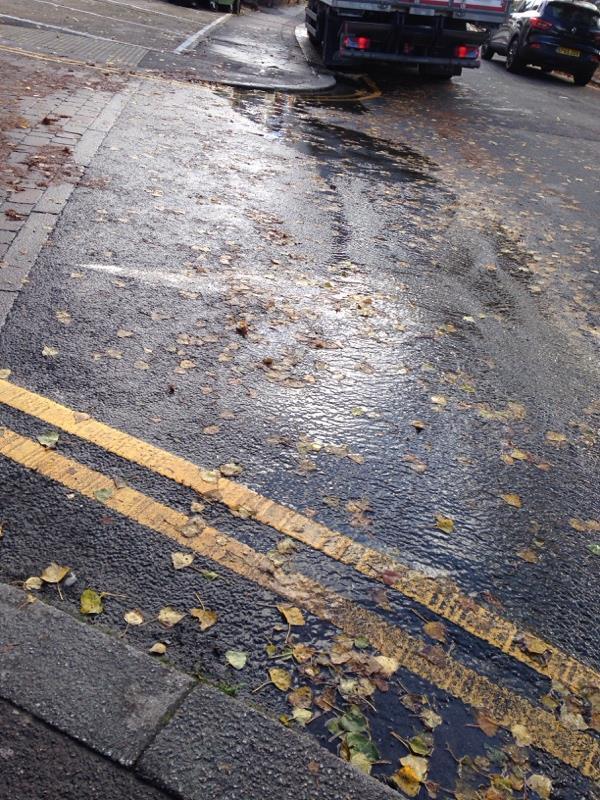 Blocked drain-11-13 Saint Peter's Road, Reading, RG6 1PS