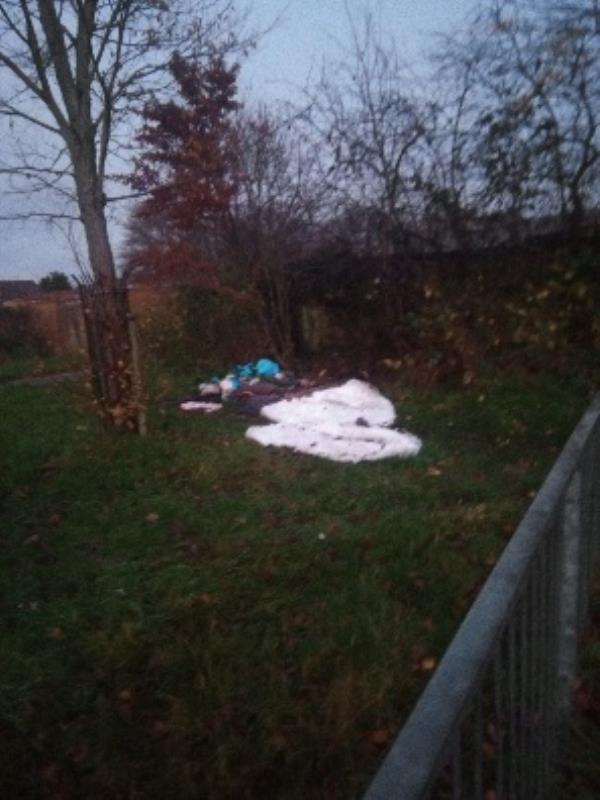 Lots of rubbish, matresses and bags-19 Canterbury Road, Reading, RG2 7TB