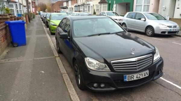 Vehicle regularly parked in a residential permit bay without displaying permit-18 Elms Road, Aldershot, GU11 1LJ