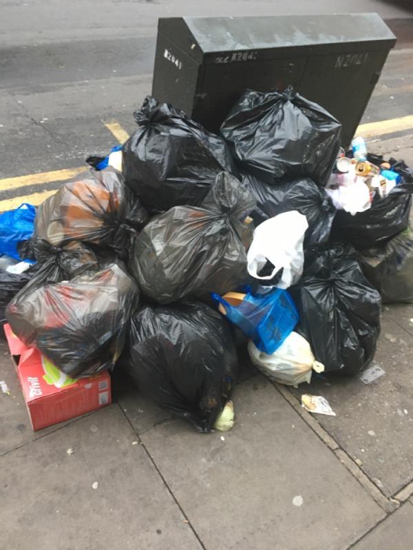 Rubbish-21 Plashet Grove, East Ham, E6 1AD