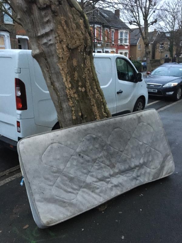 Blocking pavement-86c Earlham Grove, London, E7 9AR