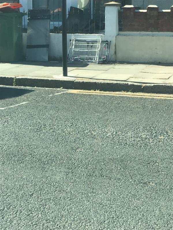 Rubbish dumped -63 Louise Road, London, E15 4NN