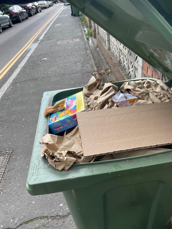 Not collected on Upper Brockley Road-49 Upper Brockley Road, Honor Oak Park, SE4 1SY