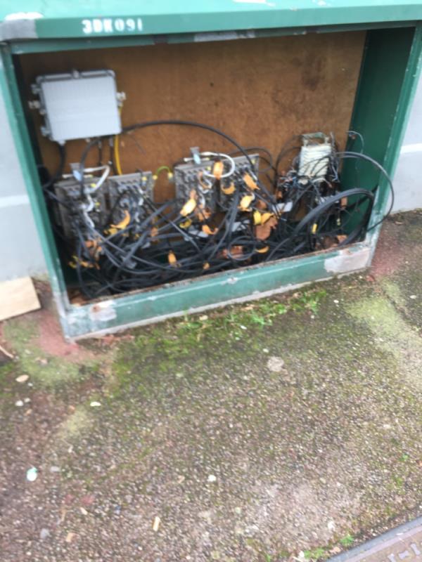 BT box broke  image 1-161 Ruskin Avenue, London, E12 6PP
