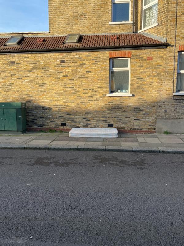 Mattress dumped -71a Balloch Road, London, SE6 1SP