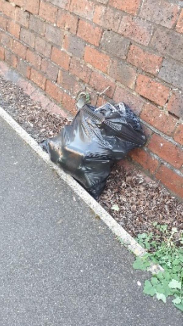 bag dumped outside 36 Aldwick Close -39 Aldwick Cl, Farnborough GU14 8LJ, UK