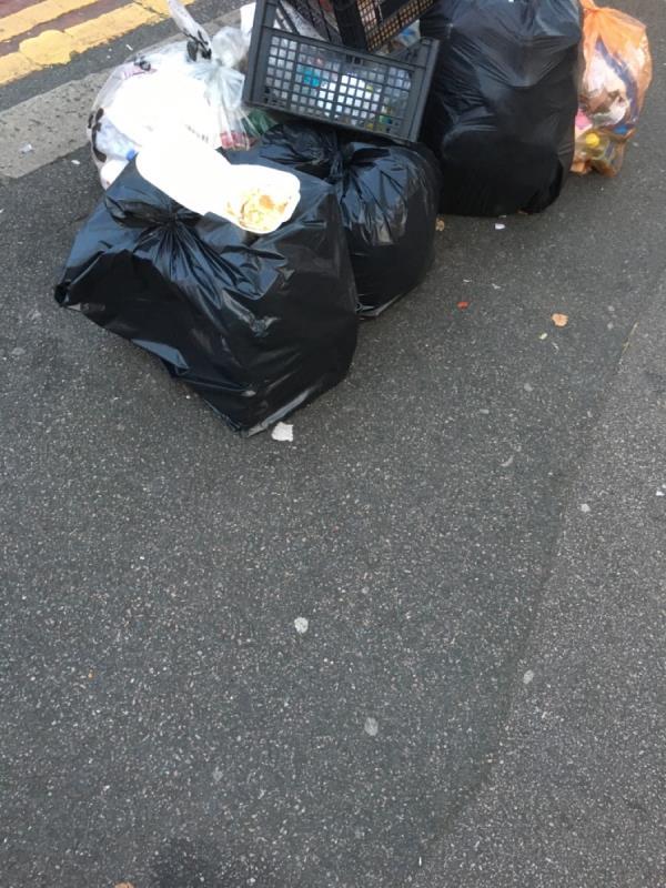 Rubbish dumped-Angel Court, 2 Angel Lane, London, E15 1GR