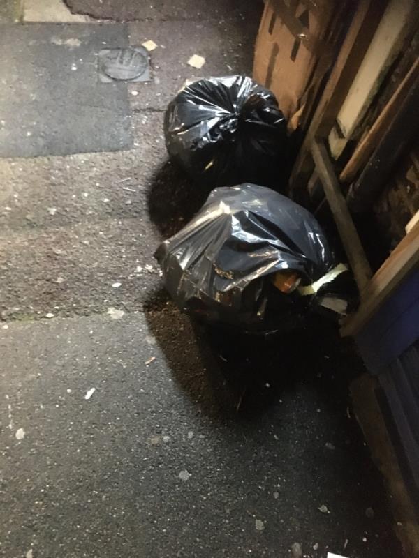 Rubbish -102 Katherine Road, East Ham, E6 1EN