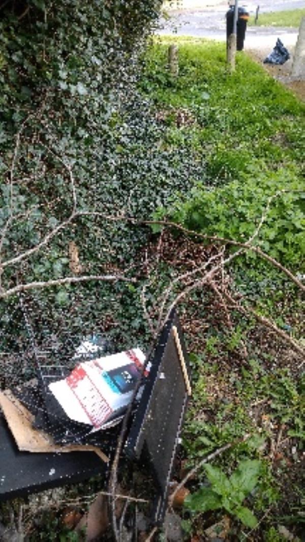Flytipped items no evidence taken -4 Litton Road, Reading, RG2 7LU