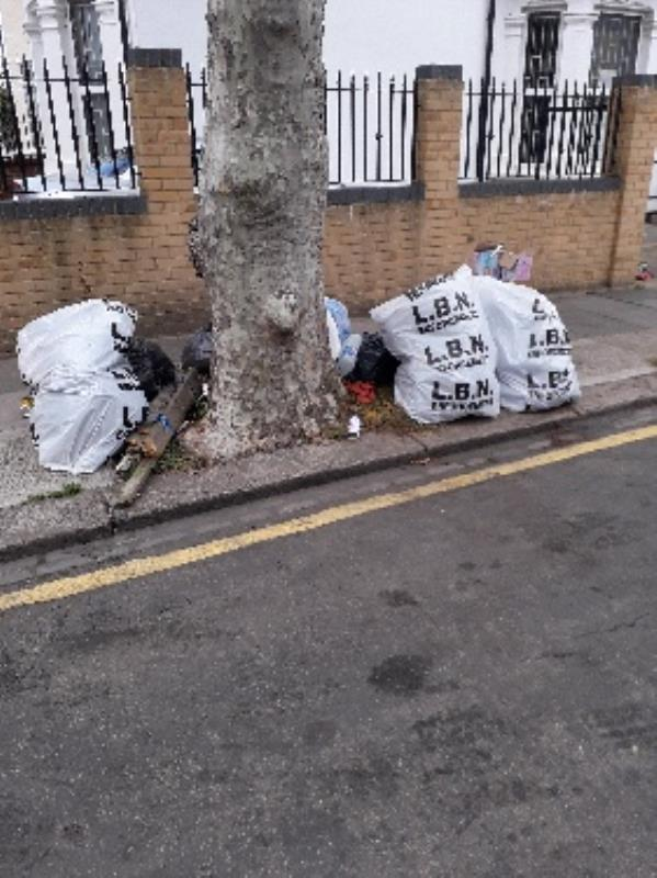 household waste -2 Jephson Road, London, E7 8LZ