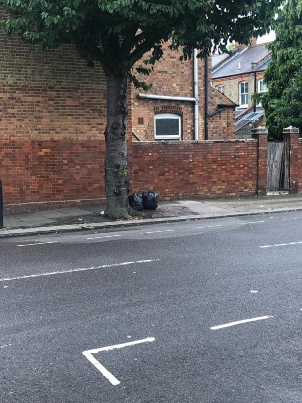 Dumped rubbish -140 Hewitt Avenue, London, N22 6QE