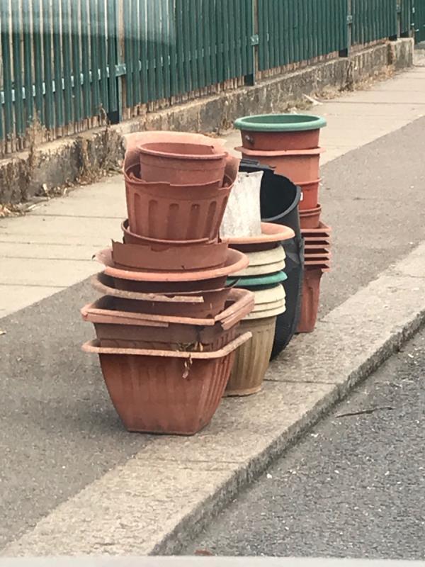 Plant pot-Torridon Infants School Torridon Road, London, SE6 1RE