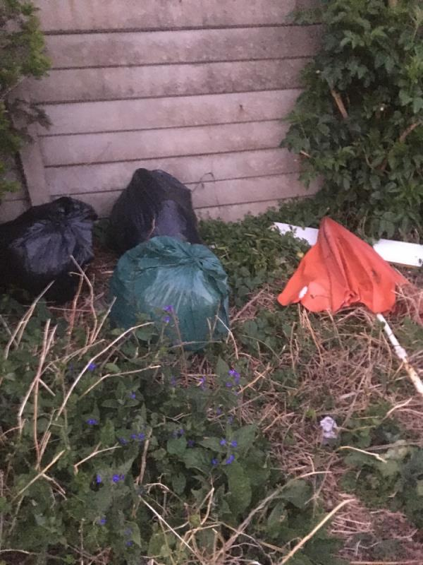 """Park- Odessa Open Space has massive fly tip. Fridgefreezer, sofa , calor gas canisters, bags of refuge, old broken furniture, household rubbish, Dangerous for kids! Reported several times. First job closed as  """"cannot find"""". Second job closed as """" completed """", third report closed as """" not our land"""". It is your land , its a Newham Park. Please sort this image 1-55 Odessa Road, London, E7 9BQ"""