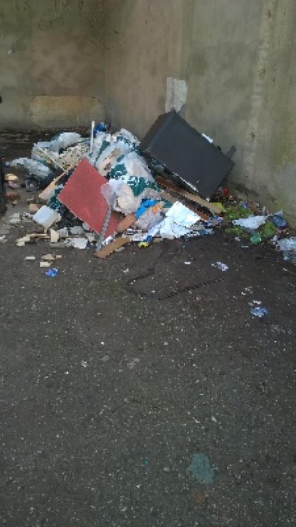 20 bags of rubble and a sofa-1003 Romford Road, London, E12 5