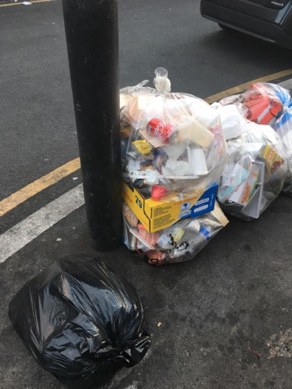 Rubbish -8 GREEN, Green Street East, E7 8LQ