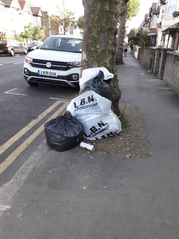 green waste-58 Hatherley Gardens, East Ham, E6 3HQ