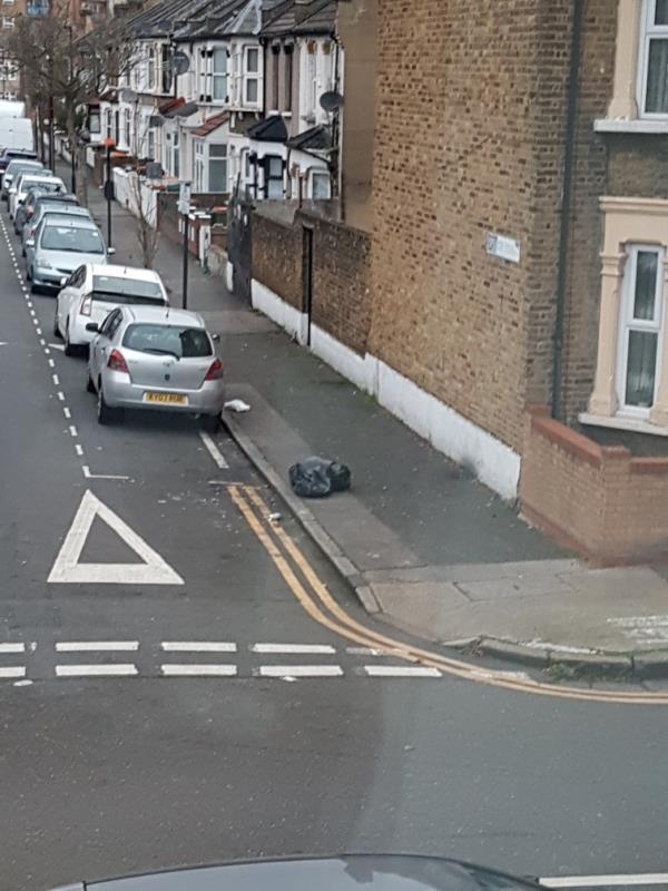 black bags from 95 grangewood street -130 Grangewood Street, East Ham, E6 1HD
