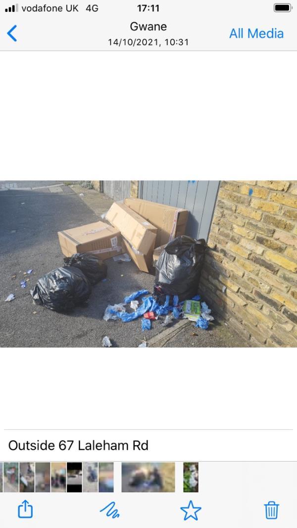 Bags / boxs-60 Laleham Road, London, SE6 2HX